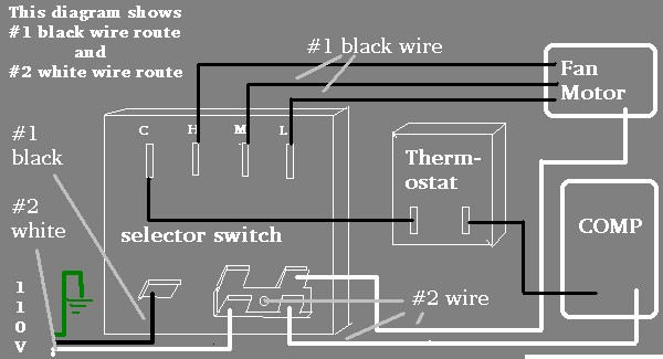 jbabs Air Conditioning Electric wiring page | Window Ac Unit Wire Diagram |  | jbabs714.tripod.com